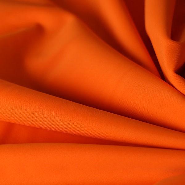 Badestoff glatt glänzend in orange