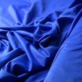 Badestoff glatt glänzend in royalblau