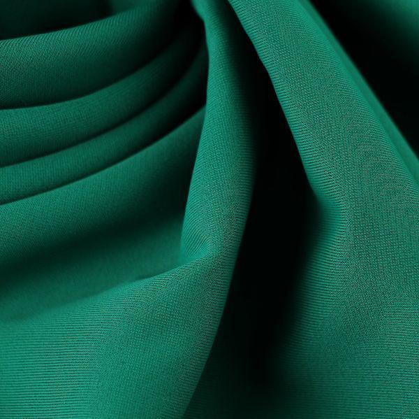 Microfaser Jersey glatt matt in tannengrün
