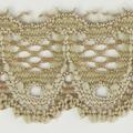 Spitzenband schmal elastisch in sand
