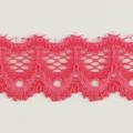 Spitzenband schmal elastisch in pink