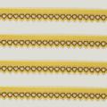 Spitzenelast schmal in gelb braun