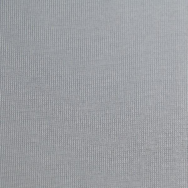 Baumwoll Jersey matt Schlauch in hellgrau