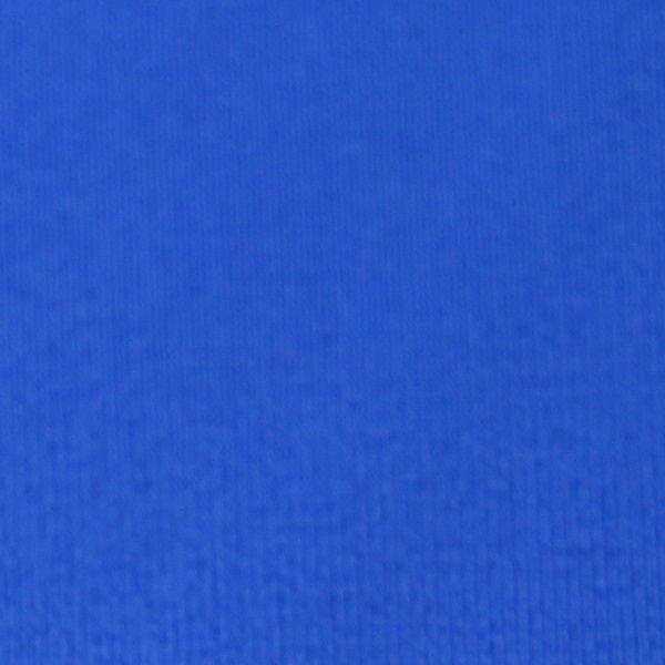 Badestoff glatt in royalblau