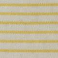 Baumwoll Jersey Schlauch matt dick weiss gelb