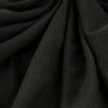 Microfaser Jersey sehr fein matt in schwarz