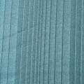 Baumwoll Jersey matt glänzend Streifen petrol hell